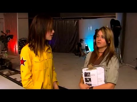 """Rachel Dunn Interview on Saturday Disney whilst directing Selwyn's """"Boomin"""" Music Video"""