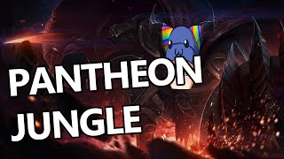 League of Legends - Pantheon Jungle - Full Gameplay Commentary