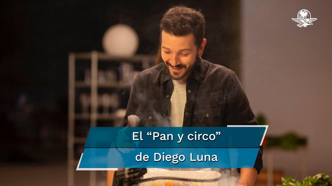 """Diego Luna hace """"Pan y circo"""" en la Televisión"""