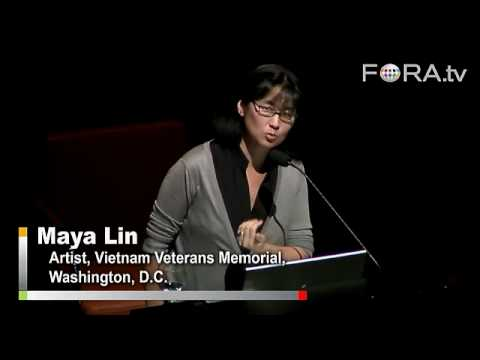 Maya Lin on the Vietnam Veterans Memorial