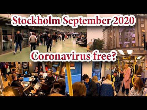 Stockholm, Sweden, Coronavirus free? September 2020