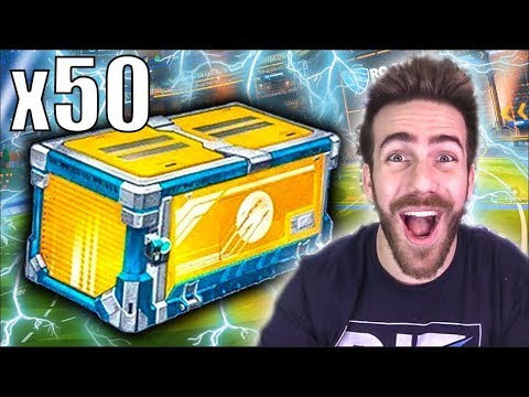50 NEW ELEVATION ROCKET LEAGUE CRATE OPENING!!! thumbnail