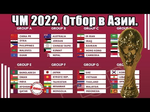 Чемпионат мира 2022. Отбор в Азии (АФК). Как изменилось положение в группах? Расписание. Таблицы.