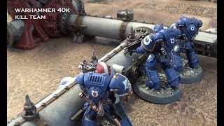 Space Marines vs Orks Kill Team 8th Edition Warhammer 40k
