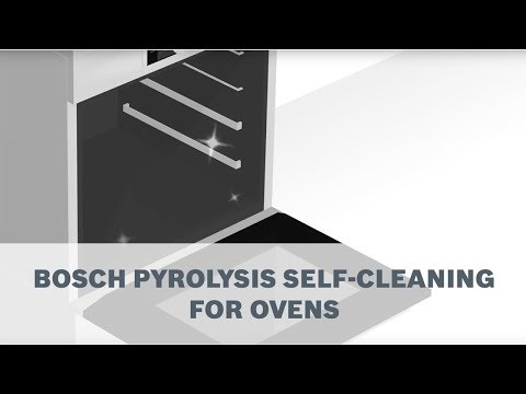 Bosch Pyrolytic Self-Cleaning Ovens - Never clean your oven again