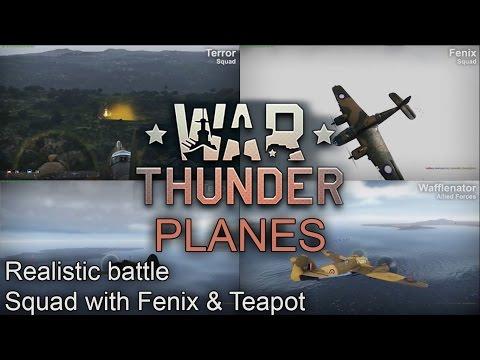 War Thunder (Planes): Beaufighter /Beaufort /Spitfire - Squad
