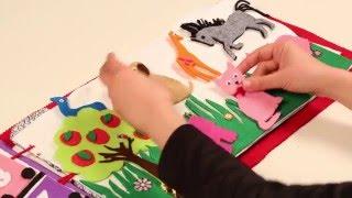 Çocuklar için Eğitici, Öğretici, Eğlenceli Aktivite Kitabı Yapımı
