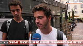 Le 18:18 - Covid-19 : durcissement des mesures, les Marseillais sont inquiets