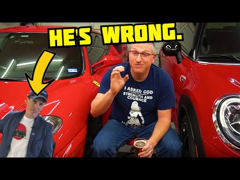 Rob Ferretti is WRONG, you can and should DIY service your Ferrari