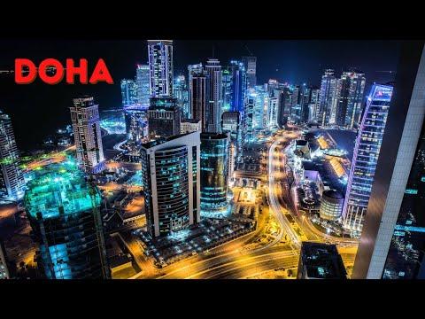 Doha City Tour Ultra HD - City Tour Doha Qatar - Doha City Qatar 2020