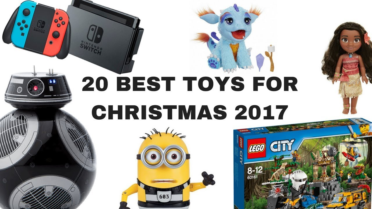 20 best toys for christmas 2017 youtube