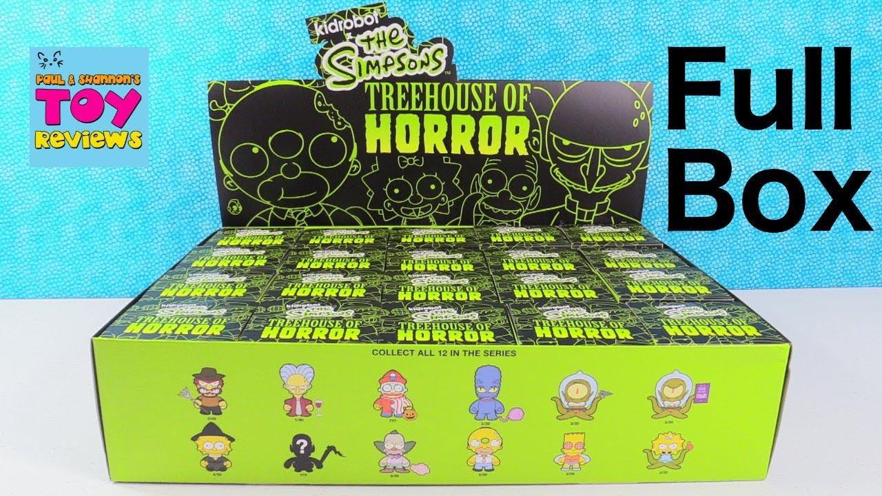 The Simpsons Treehouse Of Horror Kidrobot Vinyl Blind Box