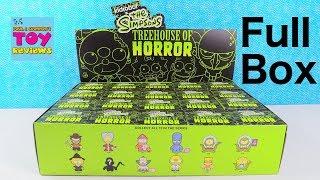 The Simpsons Treehouse Of Horror Kidrobot Vinyl Blind Box Figures Unboxing | PSToyReviews