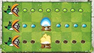 Plants vs Zombies Mod Gatling Pea Angry Birds vs Snow Pea