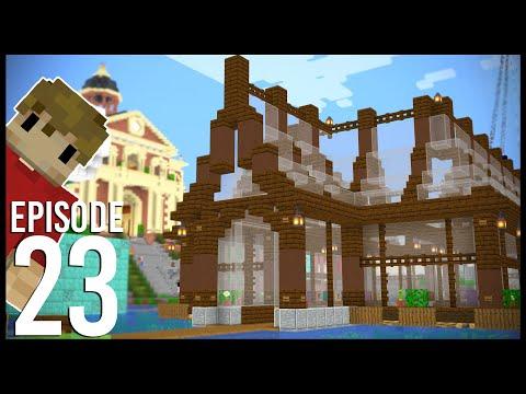 Hermitcraft 7: Episode 23 - BIG BARGE BUILDS!