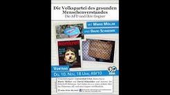 Mario Möller und David Schneider: Die Volkspartei des gesunden Menschenverstandes (10. Nov. 16)