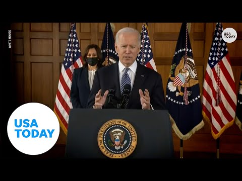President Biden on Asian American hate crimes: 'Hate can have no safe harbor in America'