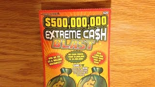 Surprise Win! $500,000,000 Extreme Cash Blast - Texas Lottery Scratch Off