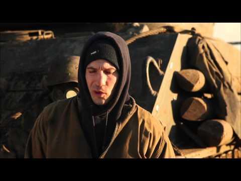 "Fury: Jon Bernthal ""Grady Travis"" Behind the Scenes Movie Interview"