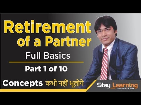 Retirement |Death of a Partner - Part 1 of 10 by Vijay Adarsh | Stay Learning |AASS (HINDI | हिंदी)