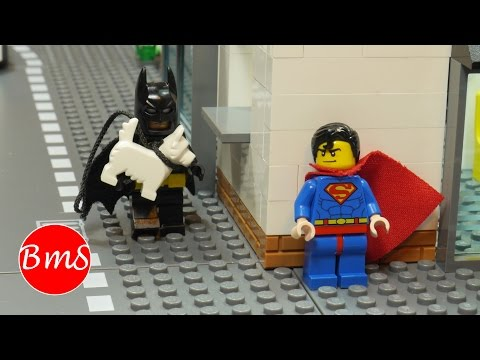 Lego Batman vs Superman Parody