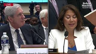 """Rep. veronica escobar, d-texas, repeatedly mentioned impeachment as one of the processes in which """"constitution requires something other than justice..."""