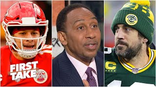 Rodgers or Mahomes?: Stephen A & Max debate which QB has the most to lose | First Take