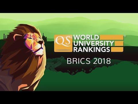 The Top 10 Universities from QS World University Rankings BRICS 2018