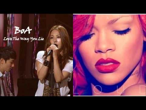 Boa (+) Love The Way You Lie (Rihanna Cover) (Live at 'Beautiful Concert')