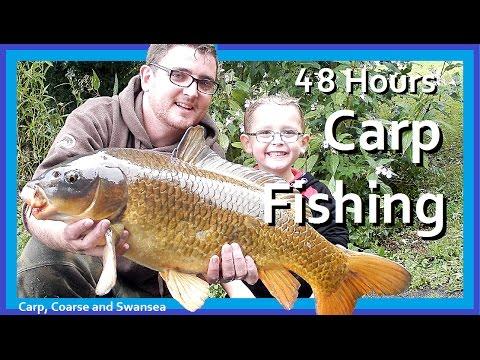 *** Carp Fishing *** 48 Hours Fishing On The Fendrod. Video 142