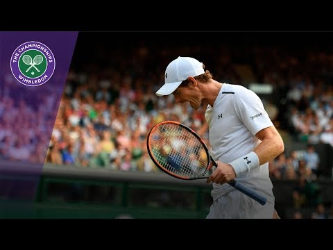 Wimbledon 2017 - Andy Murray fights back to beat Fabio Fognini