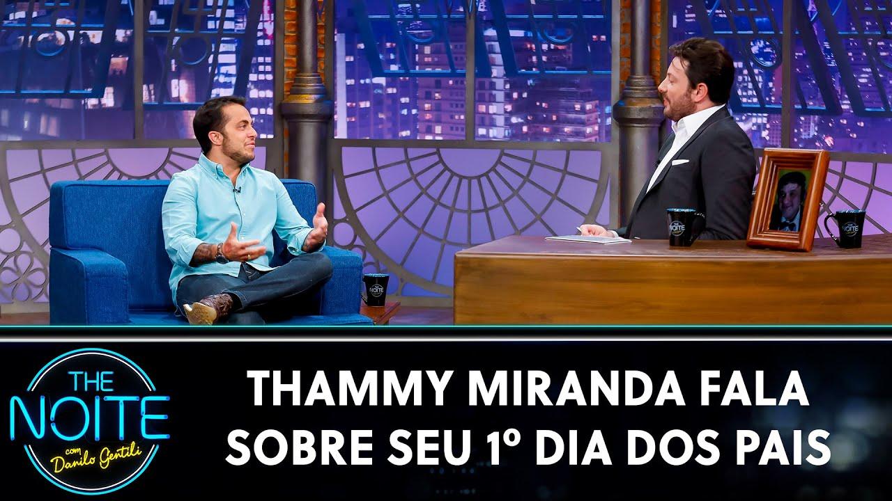 Thammy Miranda fala sobre seu 1º Dia dos Pais | The Noite (10/08/20)