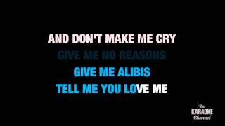 """Don't It Make My Brown Eyes Blue in the Style of """"Crystal Gayle"""" karaoke with lyrics (no lead vocal)"""