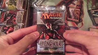 Original Zendikar Booster Box Opening! Price Treasures? Insane Pulls!!!!
