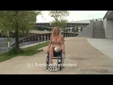P29 - Mel as Wheelchair LAK amputee pretender