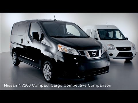 Nissan NV200 Compact Cargo Competitive Comparison