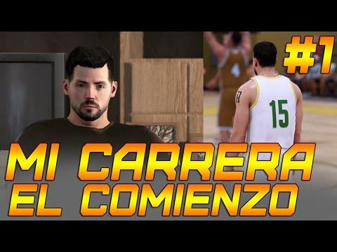 NBA 2K16 PS4  Mi Carrera - ¡Empezamos en el instituto! #1