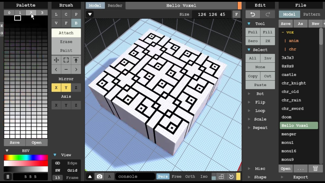 The Incredible MagicaVoxel 3D Modeling Tool