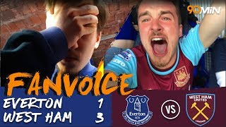 Everton 1-3 West Ham | Yarmolenko and Arnautovic goals mean West Ham destroy Everton 3-1!