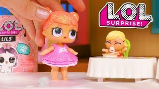LOL Surprise Dolls Sister Bedtime Routine with a Surprise Friend and Unboxings!