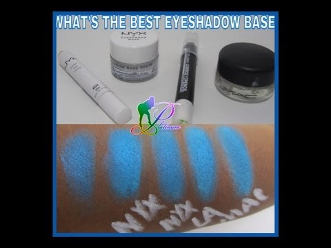 WHAT IS THE BEST EYESHADOW BASE! NOT PRIMER! LET'S BATTLE