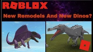 Roblox Dinosaur Simulator - Finished G.A.B Model + New Dinos?