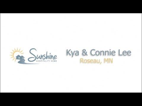 Kya & Connie Lee - Roseau, MN