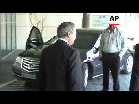 Syrian deputy FM leaves after meeting OPCW inspectors