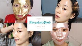 Weirdest Masks in Korea Part 2 ft. Gold Mask