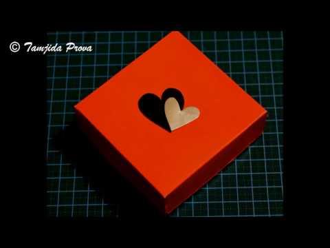 How to Make a Photo Box Card (Basic)