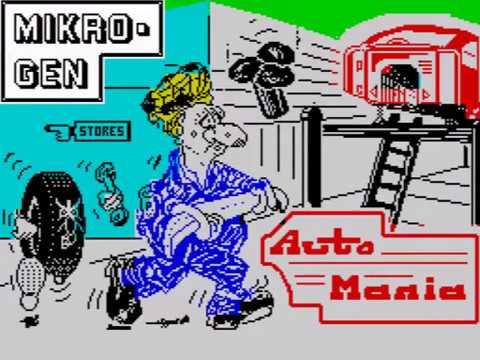 Automania ~ ZX Spectrum