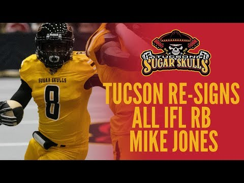 Tucson Re-Signs RB Mike Jones