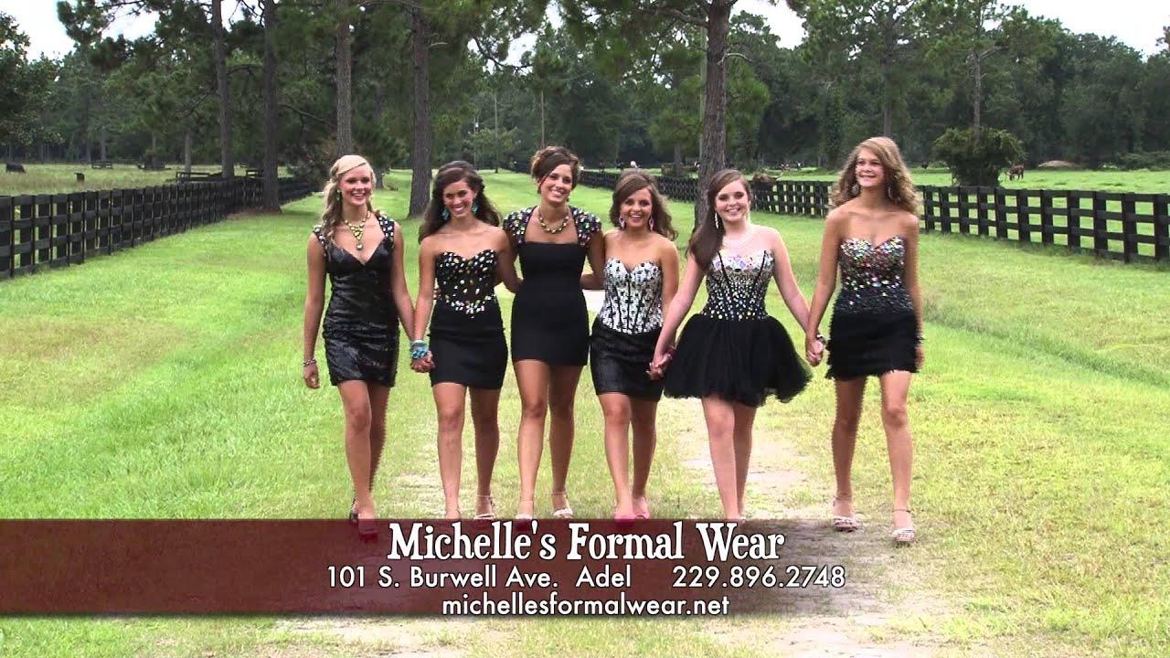 82f70e9c6fb1 Michelle's Formal Wear Adel Ga Homecoming 2013 - YouTube