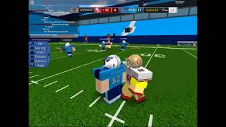 ROBLOX LEGENDARY FOTBALL 49ers @ Titans QTR 2